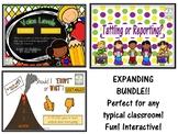 Behavior/Classroom Management EXPANDING BUNDLE **EDITABLE