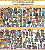 Behavior Clip Art Bundle