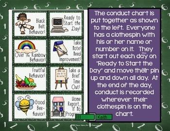 Behavior Clip Chart - Back-to-School Decor