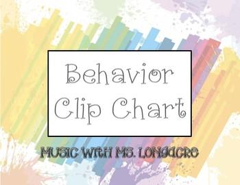 Behavior Clip Chart!