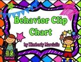 Bright Kids Behavior Clip Chart