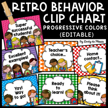 Behavior Clip Chart (Retro)