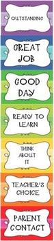 Behavior Clip Chart in English & Spanish!