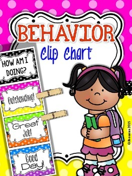 Behavior Clip Chart