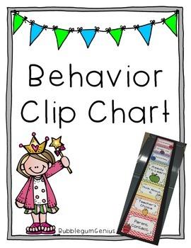 Behavior Clip Chart