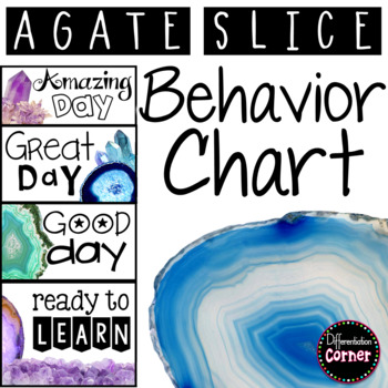 Behavior Clip Chart Agate Classroom Decor