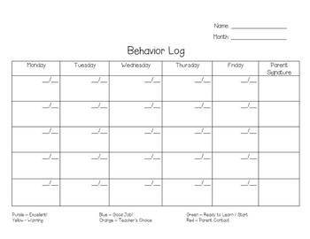 Behavior Clip Chart - Avengers