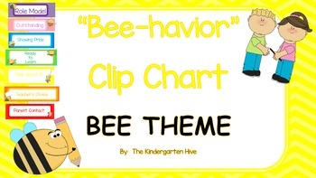 Behavior Clip Chart BEE THEME