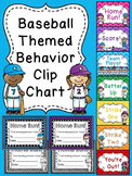 Baseball Behavior Chart