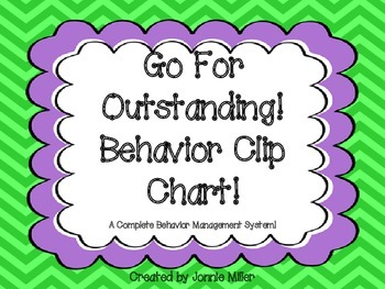 Behavior Clip Chart Based on Odedience!