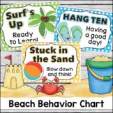 Behavior Chart - Beach Theme Clip Chart
