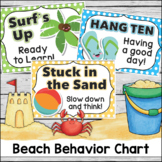 Behavior Clip Chart - Beach Theme