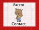 Behavior Clip Chart- Bear Themed