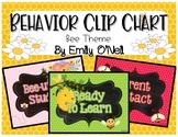 Behavior Clip Chart (Bee Theme)
