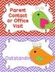 Behavior Clip Chart Behavior Management Birds 2