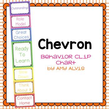 Behavior Clip Chart Behavior Management Chevron