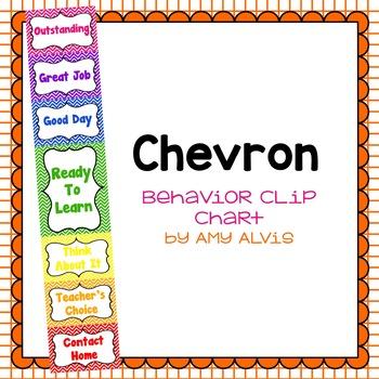 Behavior Clip Chart Behavior Management Chevron 3