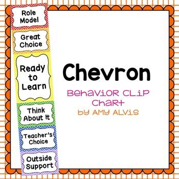 Behavior Clip Chart Behavior Management Chevron 4