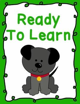 Behavior Clip Chart - Behavior Management - DOGS