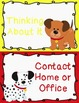 Behavior Clip Chart Behavior Management DOGS