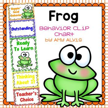 Behavior Clip Chart - Behavior Management - FROGS