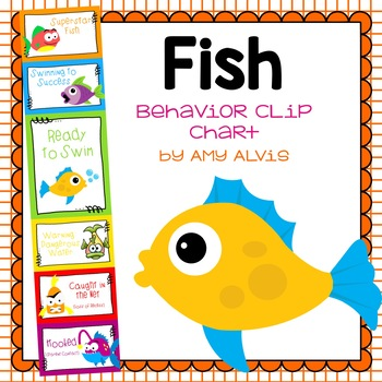 Behavior Clip Chart - Behavior Management - Fish