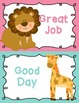 Behavior Clip Chart Behavior Management JUNGLE ANIMALS 2