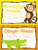 Behavior Clip Chart - Behavior Management - JUNGLE ANIMALS 4