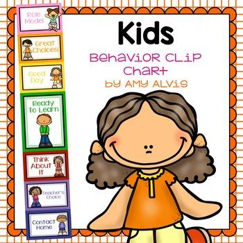 Behavior Clip Chart Behavior Management Kids