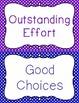 Behavior Clip Chart Behavior Management POLKA DOTS