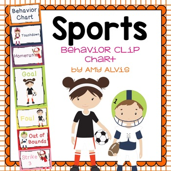 Behavior Clip Chart Behavior Management SPORTS