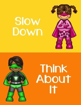 Behavior Clip Chart - Behavior Management - SUPERHERO 4