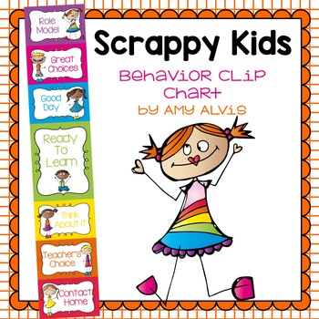 Behavior Clip Chart - Behavior Management - Scrappy Kids