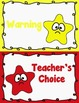 Behavior Clip Chart - Behavior Management - SHINING STAR