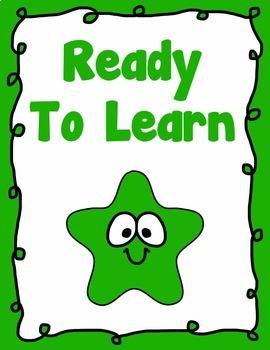 Behavior Clip Chart Behavior Management SHINING STAR