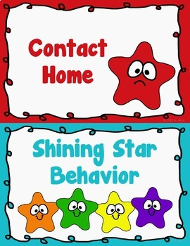 Behavior Clip Chart Behavior Management STARS 3