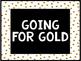 Behavior Clip Chart- Black and Gold Theme