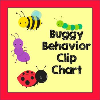 Behavior Clip Chart - Bug Theme