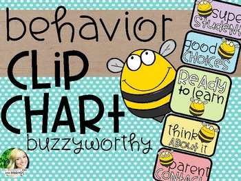 Behavior Clip Chart - Bumblebees