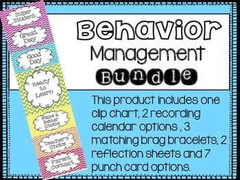 Behavior Management Clip Chart Bundle