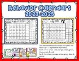 Behavior Clip Chart Calendars for 2016-2017