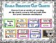 Behavior Clip Charts and Calendars for Koalas 2017-2018 (Print and Go)