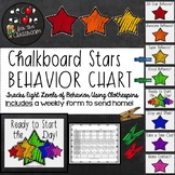 Behavior Clip Chart - Chalkboard Stars Decor