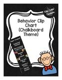 Behavior Clip Chart (Chalkboard Theme)