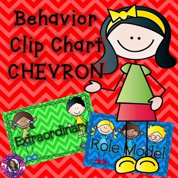 Behavior Clip Chart: Chevron