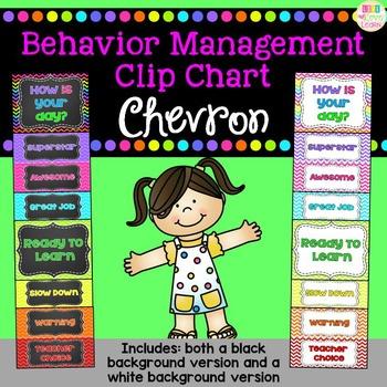 Behavior Clip Chart - Chevron