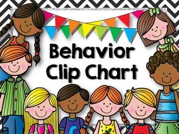 Behavior Clip Chart (Chevron)
