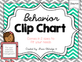 Behavior Clip Chart {Chevron}