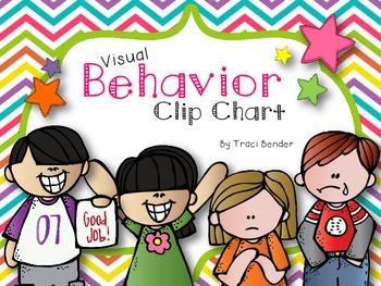 Behavior Clip Chart {Chevron Brights}