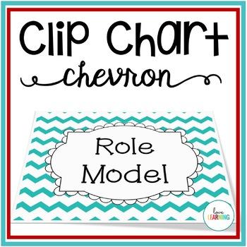 Behavior Clip Chart - Classroom Management {Chevron}